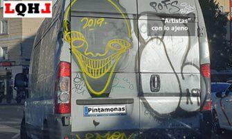 Pintamonas de barrio, el graffiti como escusa.