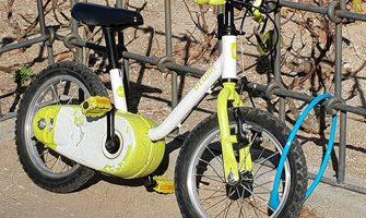 Transporte sostenible, cosa de niños.